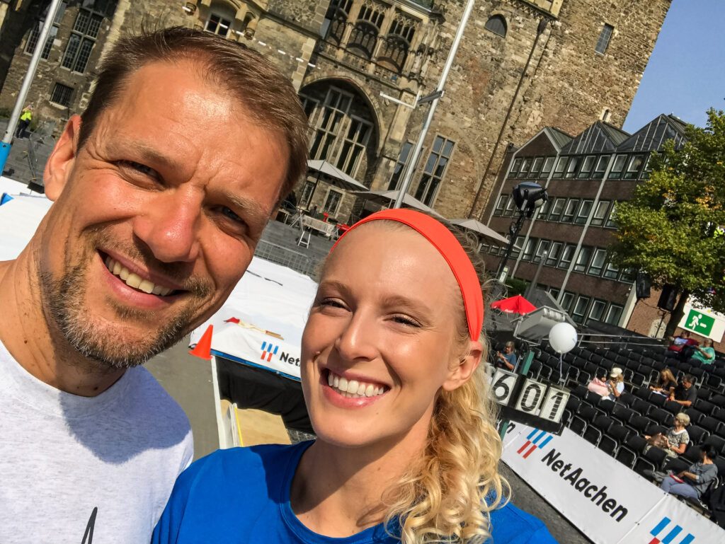 ds-Hallenweltmeisterin Sandi Morris - USA zu Gast